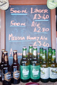 Beers at Stroud Farmers Market on eatlivetravelwrite.com