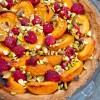 Dorie Greenspan apricot raspberry tart on eatlivetravelwrite.com