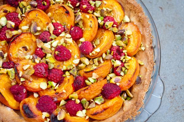 Dorie Greenspan Baking Chez Moi apricot raspberry tart on eatlivetravelwrite.com