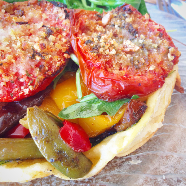 Vegetable tatin at Auberge de Fources on eatlivetravelwrite.com