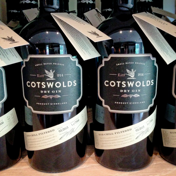 Cotswolds Distillery dry gin on eatlivetravelwrite.com