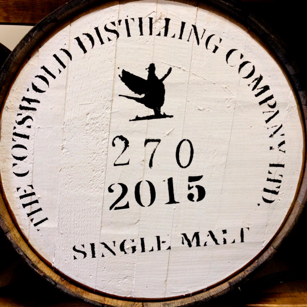 Cotswolds Distillery single malt whisky barrel on eatlivetravelwrite.com