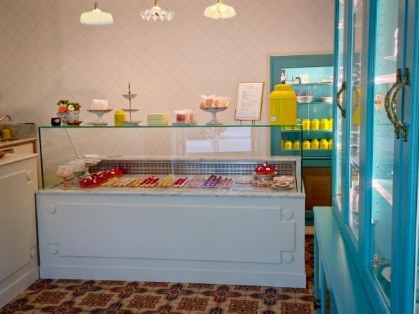 Inside Bontemps Patisserie Paris on eatlivetravelwrite.com