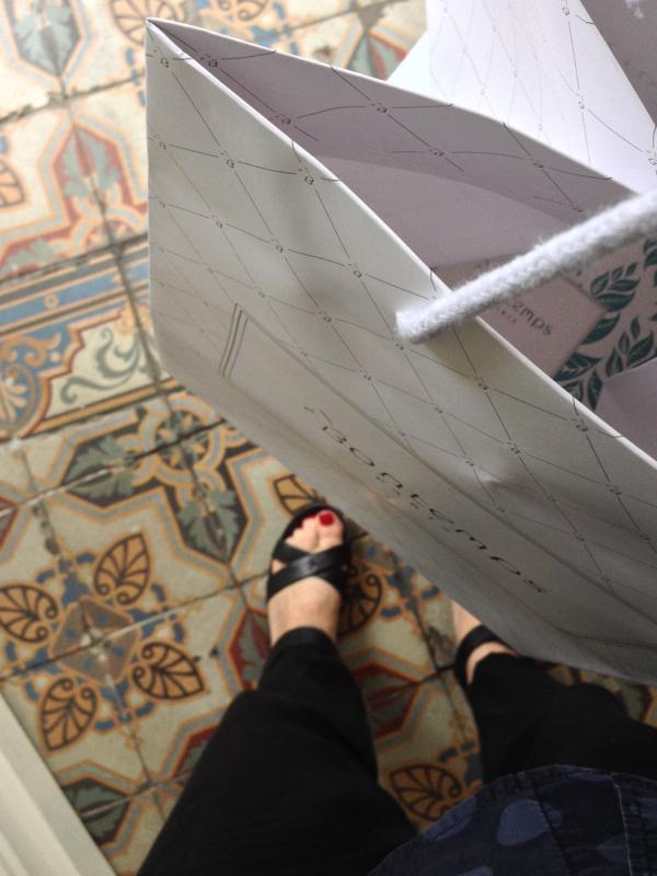 Floor at Bontemps Patisserie Paris on eatlivetravelwrite.com