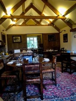 The Kingham Plough dining room on eatlivetravelwrite.com