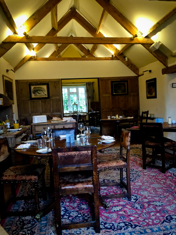 The Kingham Plough dining room on eatlivetravelwrite.com