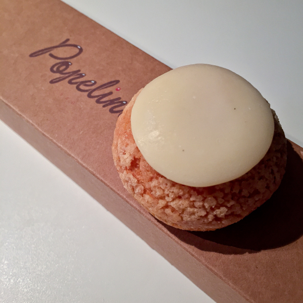 Vanilla choux from Popelini Paris on eatlivetravelwrite.com