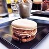 Macaron au praline coco, Liegois a la vanille de Madagascar La Table des Cordeliers on eatlivetravelwrite.com