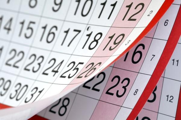 Calendar image from Shutterstock on eatlivetravelwrite.com