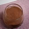 Chocolate peanut butter smoothie on eatlivetravelwrite.com