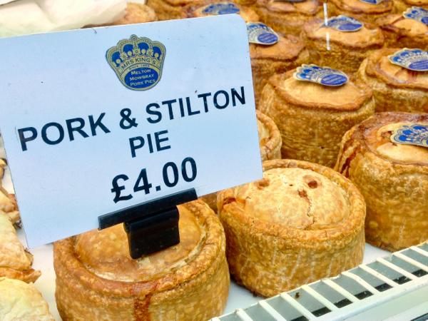 Pork and stilton pie at the Borough Market on eatlivetravelwrite.com