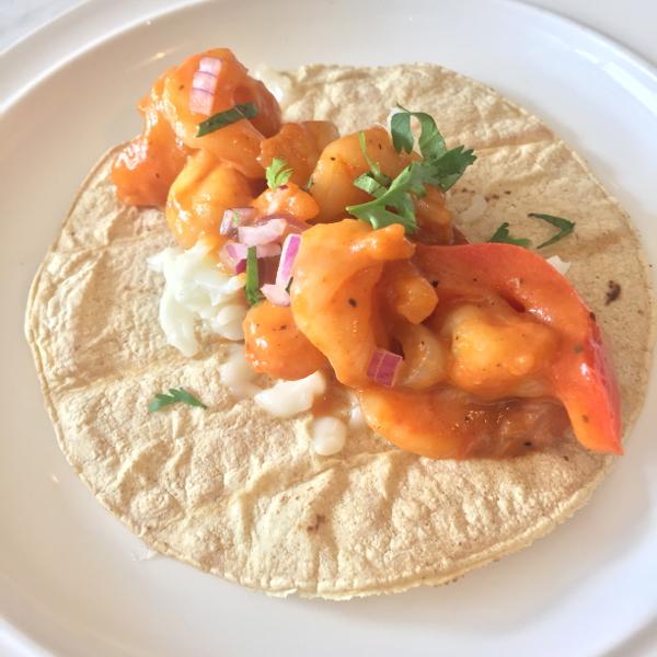 Tacos Gobernador at Fonda Lola on eatlivetravelwrite.com
