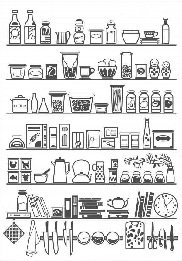 Pantry image on Shutterstock on eatlivetravelwrite.com