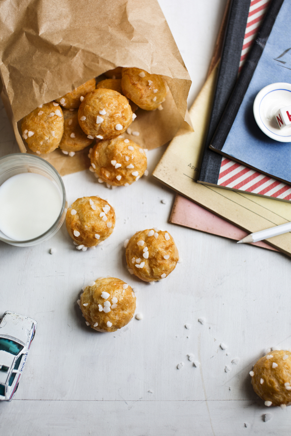 Chouquettes from Patisserie Made Simple by Edd Kimber on eatlivetravelwrite.com