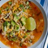 Tortilla chicken soup on eatlivetravelwrite.com