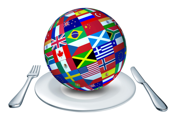 Food around the globe on Shutterstock on eatlivetravelwrite.com