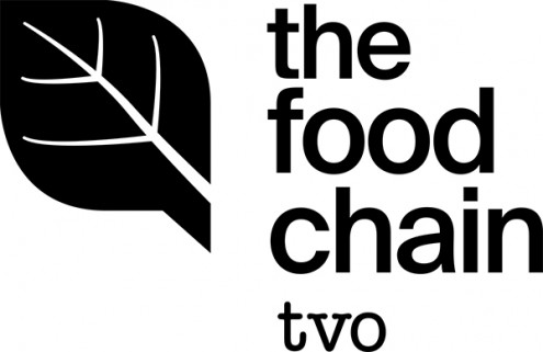 TVO The Food Chain logo on eatlivetravelwrite.com