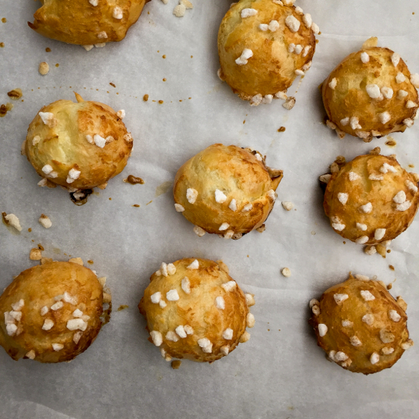 Chouquettes from Patisserie Made Simple on eatlivetravelwrite.com