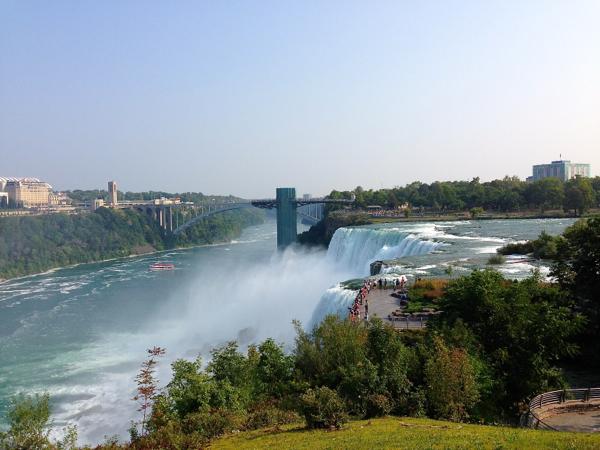 Niagara Falls State Park on eatlivetravelwrite.com