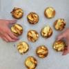 Kids made Dorie Greenspan custardy apple squares from baking Chez Moi on eatlivetravelwrite.com