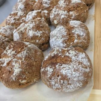 Jamie Oliver rye soda bread rolls on eatlivetravelwrite.com