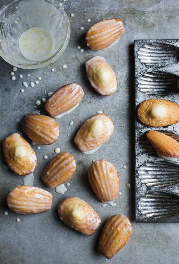 Lemon madeleines from Patisserie Made Simple on eatlivetravelwrite.com