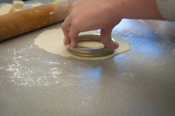Kids cutting pastry circles on eatlivetravelwrite.com