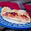 Dorie Greenspan pear and cranberry roll up tart for Tuesdays with Dorie on eatlivetravelwrite.com