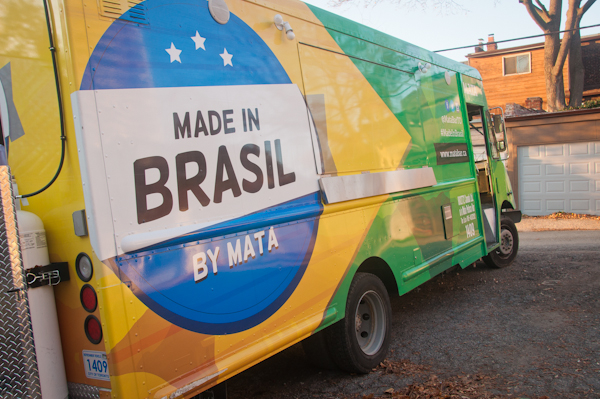 Made in Brasil food truck at Mata Bar Toronto on eatlivetravelwrite.com