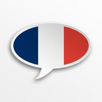 French speech bubble from Shutterstock on eatlivetravelwrite.com