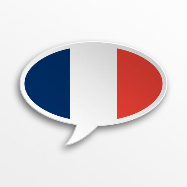 French speech bubble from Shutterstock on eatlivetravelwrite.com