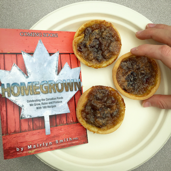 Butter tarts from Homegrown on eatlivetravelwrite.com