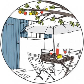 maison de la fontainein nérac on eatlivetravelwrite.com