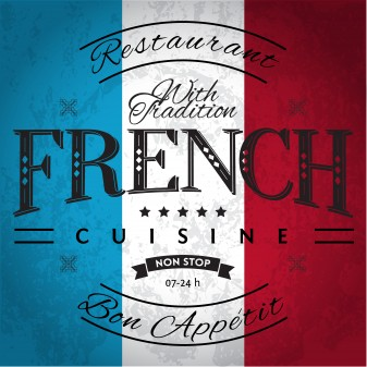 French cuisine image via Shutterstoci