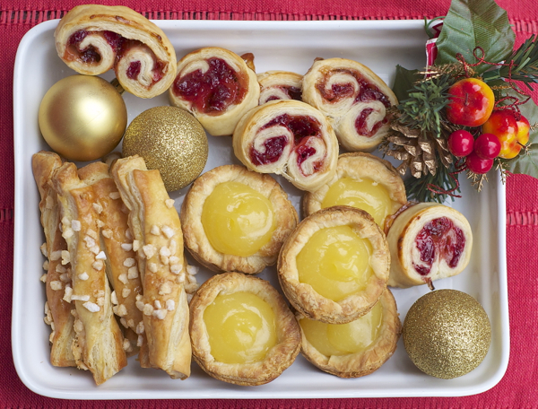 Easy puff pastry desserts for the holidays on eatlivetravelwrite.com