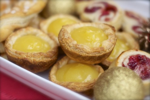 Lemon tartlets on eatlivetravelwrite.com