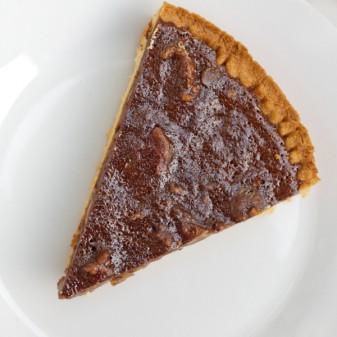 Chocolate Chestnut Tart from Baking Chez Moi on eatlivetravelwrite.com