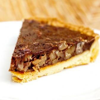 Chocolate Chestnut Tart for Tuesdays with Dorie on eatlivetravelwrite.com