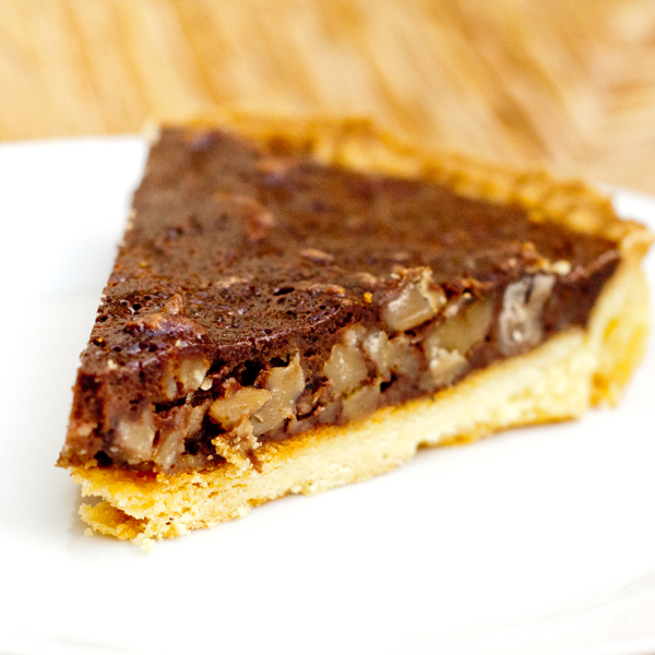 Chocolate Chestnut Tart for Tuesdays with Dorie on eatlivetravelwrite.com