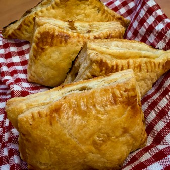 Blend and Extend beef and mushroom pastries on eatlivetravelwrite.com