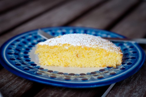 Tuesdays with Dorie tangerine carrot cake on eatlivetravelwrite.com