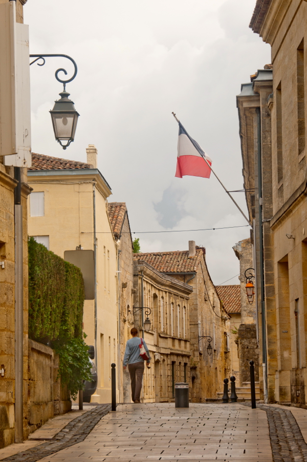 On the streets of St Emilion on eatlivetravelwrite.com
