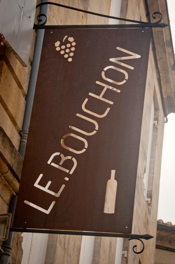 Le Bouchon in St Emilion on eatlivetravelwrite.com