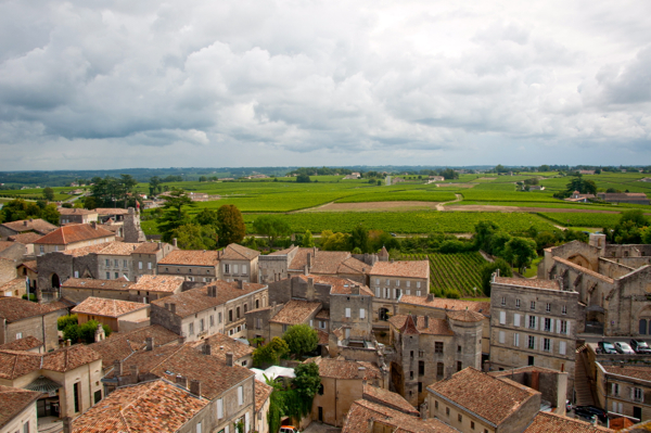 View of St Emilion town on eatlivetravelwrite.com