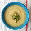 Roasted celeriac and parsnip soup on eatlivetravelwrite.com