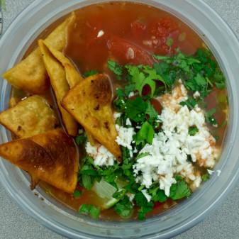 Jamie Oliver Everyday Super Food Amazing Mexican soup on eatlivetravelwrite.com