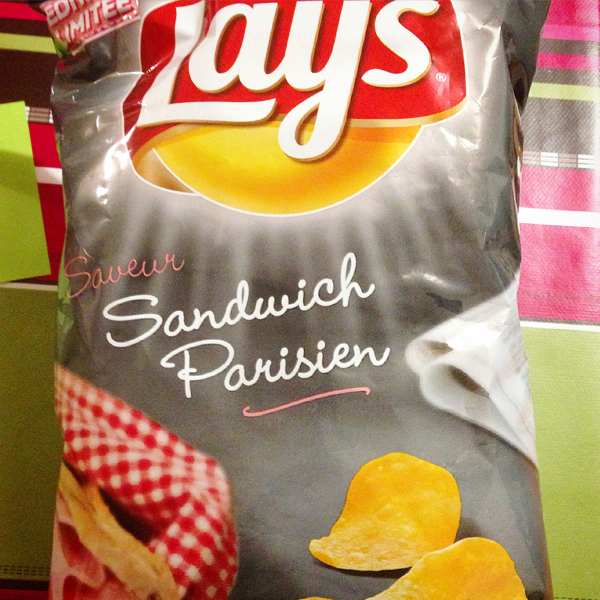 Ham sandwich flavoured chips on eatlivetravelwrite.com