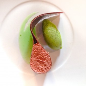 Cremeux chocolat from La Table des Cordeliers on eatlivetravelwrite.com