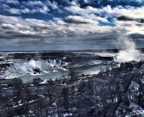 Niagara Falls from the Niagara Skywheel on eatlivetravelwrite.com