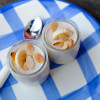 No bake banana cheesecake pudding on eatlivetravelwrite.com